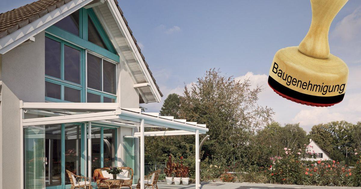 Terrassenuberdachung Brauche Ich Eine Baugenehmigung