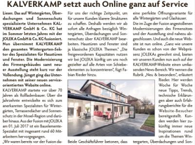 Eifelzeitung Kalverkamp