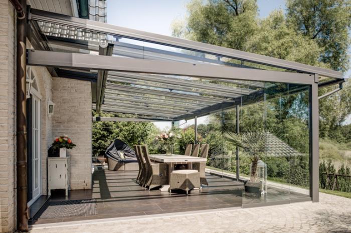 Gartenmöbel Glashaus