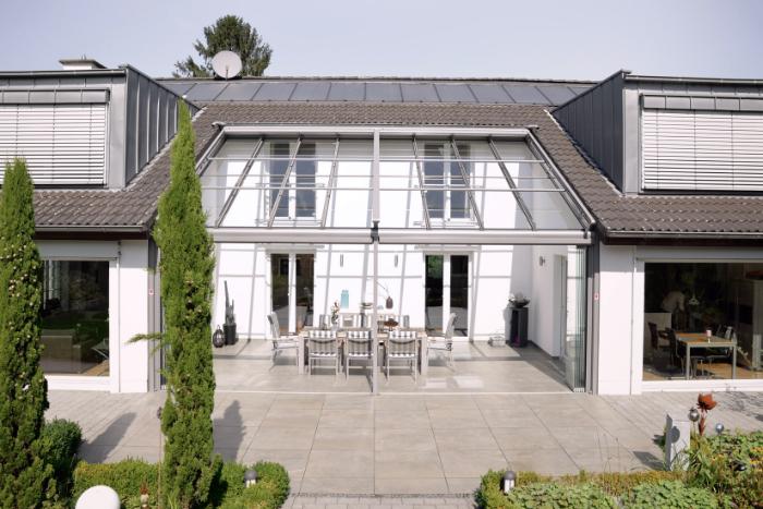 Wohnträume wie dieses Solarlux-Objekt profitieren von Signapur